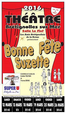 Théâtre - Bonne fête Suzette