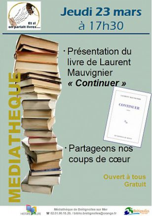Animation lecture - Et si on parlait livres ?