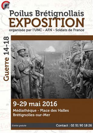 Exposition Guerre 14-18 - Les Poilus Brétignollais