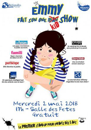Selsapik : Emmy fait son one kid show