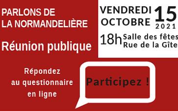 Parlons de la Normandelière : questionnaire