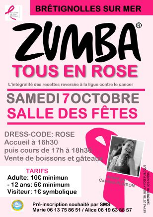 Octobre rose - Zumba