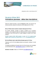 CP Animations jeunesse - Fev 2015